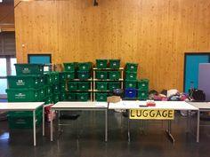 Guest Luggage Storage }  Crisis @ Christmas '16 - (ELDC)