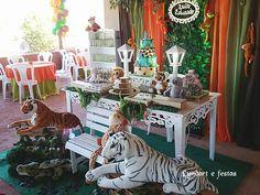 decoração safari