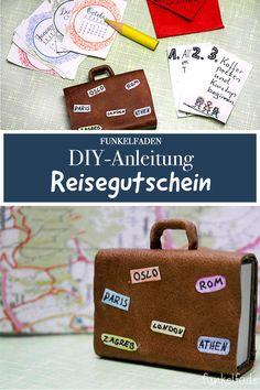 16 best Reisegutschein basteln images on Pinterest | Gift ideas ...