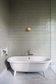 TILES Hecker Guthrie Transforms Men's Retirement Home Into a Grand Victorian Residence Bad Inspiration, Bathroom Inspiration, Bathroom Ideas, Bathroom Styling, Bathroom Tubs, Bathroom Lighting, Bathroom Vanities, Bathroom Designs, Bathroom Baskets