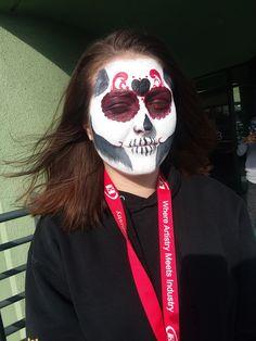 Morgue Photos, Carnival, Halloween Face Makeup, Carnavals
