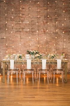 Stunning industrial decor: http://www.stylemepretty.com/canada-weddings/ontario/toronto/2015/08/14/modern-industrial-inspiration-shoot/ | Photography: Simply Lace - http://www.simplylacephotography.ca/
