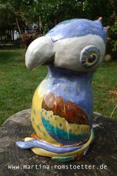 Papagei_Keramik
