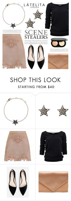 """""""Scene stealers"""" by helenevlacho ❤ liked on Polyvore featuring Zimmermann, Brunello Cucinelli, MANGO, Micoli, Bobbi Brown Cosmetics and Latelita"""