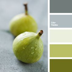 Color Palette Greenish-olive shades of figs skin, velvet and smooth gray and gray-white hues. This colour solution can be used to accentuate the texture of natural high-. Green Color Schemes, Green Colors, Color Combos, Colours, Green Colour Palette, Room Colors, House Colors, Rgb Palette, Green Accent Chair