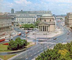 Warszawa, Plac Trzech Krzyży