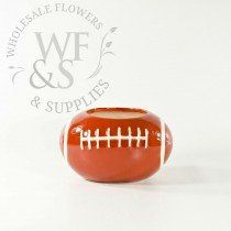 Buy 4 Football Ceramic Vase at the best wholesale prices. Check this and more Ceramic & Clay Containers for cheap & with national shipping. Ceramic Flower Pots, Flower Vases, Ceramic Clay, Ceramic Vase, Wholesale Flowers And Supplies, Wholesale Vases, Boy Decor, Floral Arrangements, Party Time