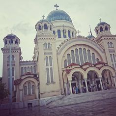 Patras - St Andrew's City! Our home away from home town! Greek memories - Part 2. . . . . . . . #achaia #agiosandreas #architecture #balkan #beige #church #city #dinner #europe #graffiti #grey #iconagraphy #mediterranean #memories #mussels #neoclassical #orange #overcast #patras #peloponnese #polis #publicspace #rainyday #seafood #staircase #travel #trionnavarhon #urban #vivid Patras, St Andrews, Mussels, Neoclassical, Home And Away, Rainy Days, Taj Mahal, Seafood, Graffiti