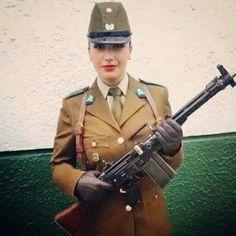 Military Women, Military Art, Military History, Curvy Women Fashion, Womens Fashion, Mexican Army, Uniform Ideas, Hot Cops, Outdoor Girls