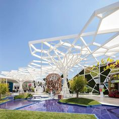 Gallery of One Photographer's Definitive Guide to the Pavilions of the 2015 World Expo - 12 One Photographer& Definitive Guide to the Pavilions of the 2015 World Expo,Turkey. Image © Darren Bradley Source by ferrucciomarian. Landscape Architecture Design, Futuristic Architecture, Amazing Architecture, Interior Architecture, Chinese Architecture, Concept Architecture, Urban Furniture, Street Furniture, Expo Milan