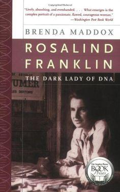 Rosalind Franklin: The Dark Lady of DNA by Brenda Maddox http://www.amazon.com/dp/0060985089/ref=cm_sw_r_pi_dp_QLWiub0GJBA0D