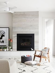Industrial and Modern fireplaces