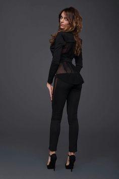 Giacca beautiful schiena seta