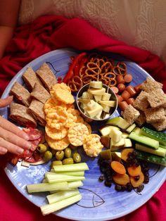 Lunch platter.
