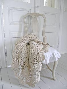 Marie Agneau: Absolutely Gorgeous Crochet, Lace Throw, ɭ0ƲᏋ~❥