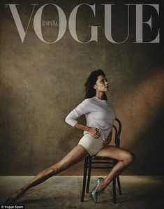 Victoria Beckham appears naked in nude for Vogue Spain | Daily Mail Online