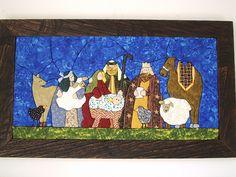 Pesebres en patchwork sin aguja moldes - Imagui Quilt Block Patterns, Quilt Blocks, Christmas Crafts, Christmas Decorations, Patch Quilt, Christmas Art, Christmas Quilting, Christmas Ideas, Felt Art