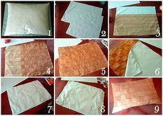 Woven Ribbon Pillows