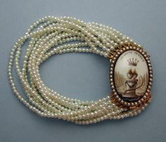 Margaret Sinclair Neoclassical Clasp 1775 | Art of Mourning