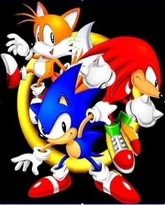 Sonic the Hedgehog Video Game Anime, Video Game Characters, Video Games, Fictional Characters, Sonic Birthday, Birthday Fun, Shadow The Hedgehog, Sonic The Hedgehog, Sonic & Knuckles