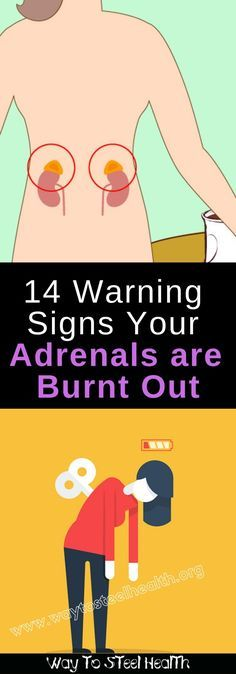 14 Warning Signs Your Adrenals are Burnt Out and What You Need to Fix Them - Way to Steel Health