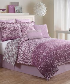 Look At This #zulilyfind! Lavender Ryder Bedding Set #zulilyfinds