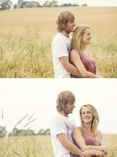 Kate and Chris' engagement shoot in the Cotswolds