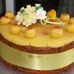 "Simnel Cake from ""Crafts of the World Online"" for Laetare Sunday (Mothering Sunday--fourth Sunday of Lent--the original Mothers Day)"