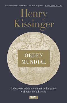 Una profunda reflexión sobre qué motiva la armonía y el conflicto en  las relaciones internacionales, por el Premio Nobel de la Paz. «Las conclusiones de Kissinger deberían ser lectura obligada para los  candidatos a las elecciones de 2016. El orden mundial depende de ello.»The Financial Times
