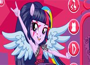 Equestria Girls Rainbow Rocks Twilight Sparkle | Juegos Equestria Girls - Rainbow Rocks