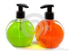 dispensador de colores de jabon liquido -
