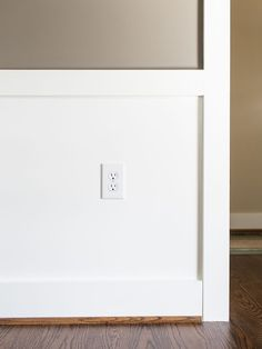 """Looks pretty basic, but a cornerstone of universal design is placing outlets no lower than 18 inches (and switches no higher than 40-44"""") and preferably positioned to""""  """"Universal Design"""""""