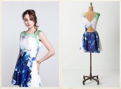 dress with back cutout - treasure by samantha pleet for anthro