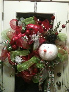 Kristen's Creations: Your Beautiful Mesh Wreaths!