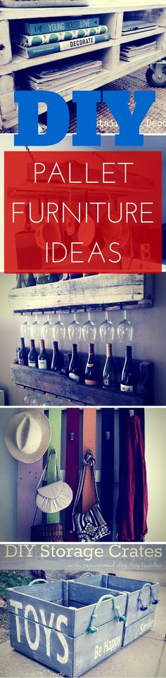 Brilliant collection of 27 DIY pallet furniture ideas. See the full list: http://www.thesawguy.com/diy-pallet-furniture-ideas/