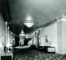 Often decorated with simple molded plaster designs of the Art Deco and Art Moderne styles, interiors of the and were frequently accented with metal flake paints in a full range of metallic colors, from copper to bronze. Vintage Paint Colors, Metallic Colors, Paramount Theater, Cornices, Sacramento California, Columns, Plaster, Art Deco Fashion, Preserves