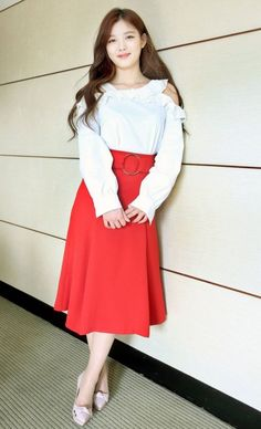 """Kim Yoo Jung Fan Meeting """"First Memory"""" in Taiwan Kim You Jung, Ha Ji Won, Take Me Up, Child Actresses, Taiwan, Trending Memes, High Waisted Skirt, Memories, Fan"""