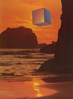 Glass Planet - cubist sunset