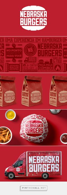 Nebraska Burgers by 095design