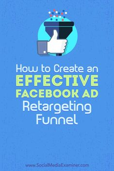Discover how to build a Facebook retargeting funnel that serves multiple ads over a substantial time period. #facebookmarketing #facebookads Facebook Marketing Strategy, Social Media Marketing Business, Online Marketing, Marketing Strategies, Digital Marketing, Marketing Ideas, Marketing Tools, Affiliate Marketing, Using Facebook For Business