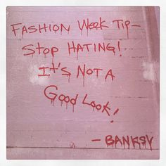 #Bansky Strikes Again - It's So #True You're Never Fully Dressed Without A…