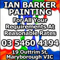 Ian Barker Painting - Promotion