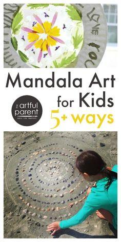 Introducing Mandala Art in the #Arts classroom // Cómo introducir el arte del #mandala en las clases de artística y #plástica