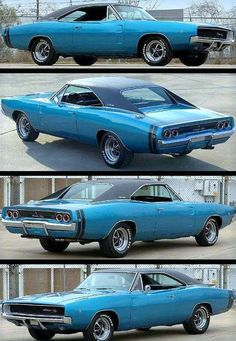 1968 Dodge Charger in Midnight Blue #DodgeChargerclassiccars