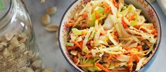 Peanut Cole Slaw (It's Delicious & Vegan!) - mindbodygreen.com