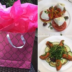 #Beautiful #birthday #lunch ... full of #surprises!!  . . #lunchdate #lunchtime #happybirthday #yum #yummy #color #colourpop #foodie #present #foodporn #losangeles #beverlyhills #nothingisordinary #visualsoflife #moments #nofilter #flashesofdelight #lovemylife #hunterphoenix