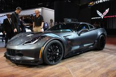 #Chevrolet has unveiled the 2017 #Corvette GS in Geneva, and it sits between the base Stingray and the fire-breathing forced-induction Z06. #luxurycars