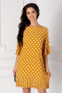 Rochii cu Imprimeuri Polka Dots, Tops, Design, Valentines Day Weddings, Polka Dot, Dots