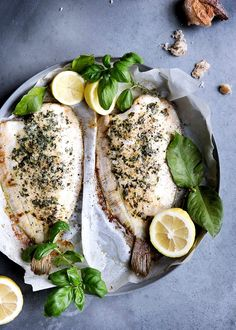 Linguine, Fish Dishes, Fish And Seafood, Love Food, Food And Drink, Low Carb, Cheese, Meals, Cooking