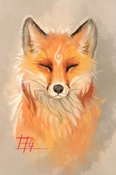 The fox by griffsnuff.deviantart.com on @DeviantArt